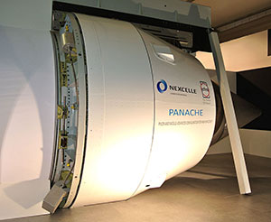 The PANACHE demonstrator validated the innovative one-piece O-Duct thrust reverser – which is now applied to Nexcelle nacelles on LEAP-1C engines for the C919 jetliner.